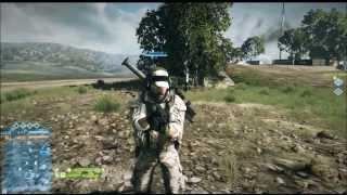 BF3 Glitches - Epic No Gun Glitch