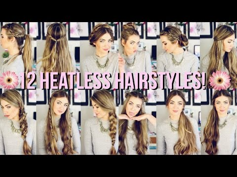 12 Heatless Hairstyles for Back to School