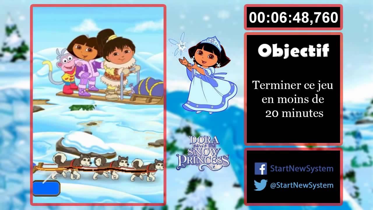 D fi n 131 dora sauve la princesse des neiges youtube - Dora princesse des neiges ...