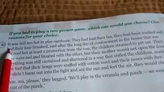 Games At Twilight By Anita Desai In Hindi Part-1