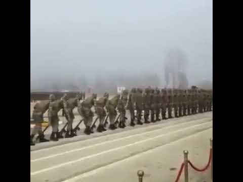 Türk askeri vücut gösteri