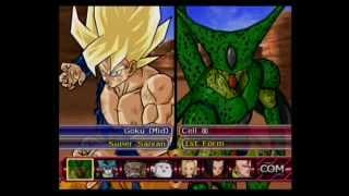 DBZ BT3 - Duel Mode   What If - SSJ Goku Vs Meca Frieza