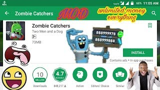 Gambar cover Zombie Catchers MOD - unlimited  Money/Plutonium Hack - Download [No-Root]