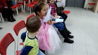 День рождения Насти 8 лет)