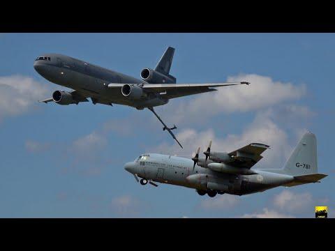 The heavy Birds - C130 Hercules & DC-10 Tanker - Luchtmachtdagen 2019