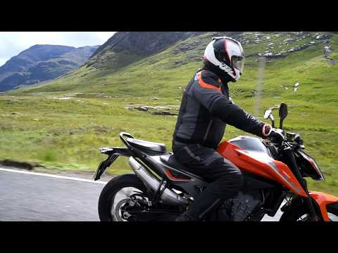 Kevin Carmichael takes to the Scottish highlands on the KTM 790 DUKE
