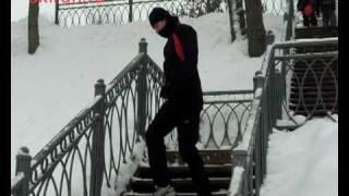 Беговые упражнения. Ходьба по лестнице.