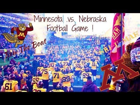 University of Minnesota vs Nebraska Football Game 11/11/17