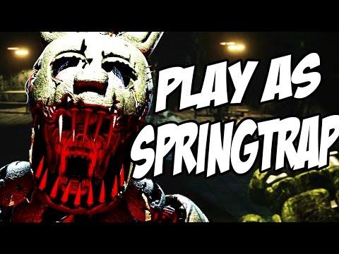 PLAY AS SINISTER SPRINGTRAP! | Sinister Turmoil SPRINGTRAP DEMO