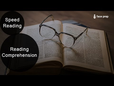 Speed Reading - Reading Comprehension for Placements