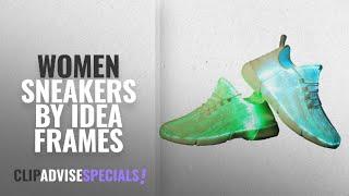 Idea Frames Fiber Optic LED Light Up Shoes White