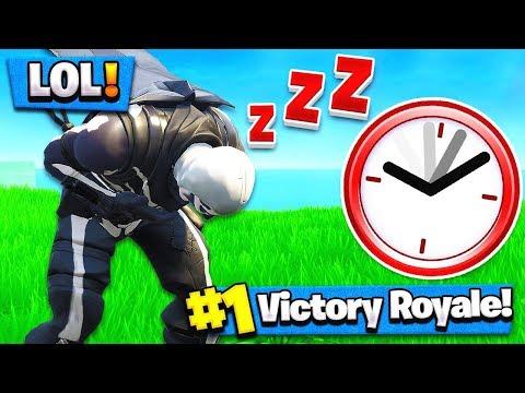 NO SLEEP CHALLENGE! 24 Hours Without SLEEP (Fortnite Battle Royale)