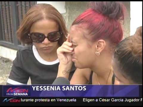 Sepultan restos de adolescente asesinada en motel de Santiago