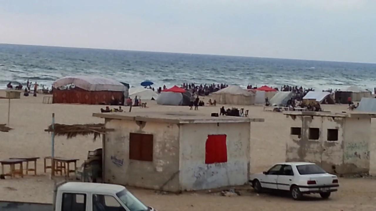 Tropical Island Beach Ambience Sound: شاهد شاطئ بحر مدينة غزة