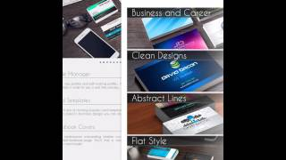 Remove text box border create business cards on your ipad with the business card creator tutorial for ipad 3 years ago reheart Images