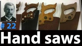 Antique Hand Saw | Arthur's Tool Box | DIY