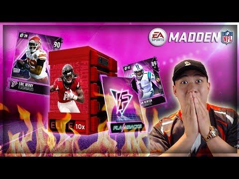 Madden 18 FIRE FLASHBACK BUNDLE OPENING!! 3 ELITES IN 1 PACK!!