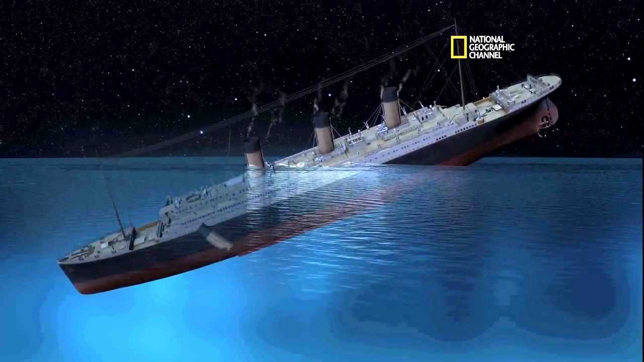 2012 Titanic Sinking Simulation Youtube