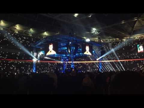 Anthony Joshua Vs Wladimir Klitschko Ring Walks Live @ Wembley Stadium 29/4/2017
