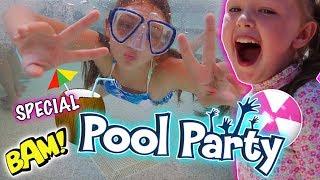 AMAZING POOL PARTY! - EPCOT - DISNEY FLORIDA 2017 DAY 9!