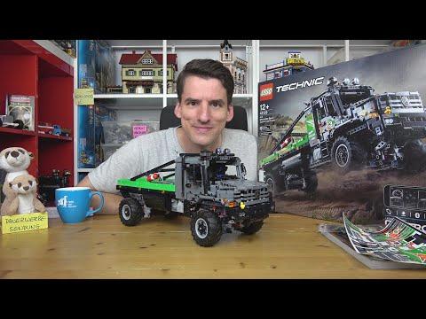 Eine Schande für Mercedes! LEGO® Technic 42129 4x4 Mercedes-Benz Zetros Offroad-Truck (ohne RC)