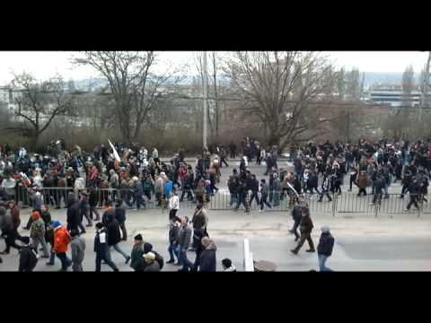 Протест Варна 17.02.2013