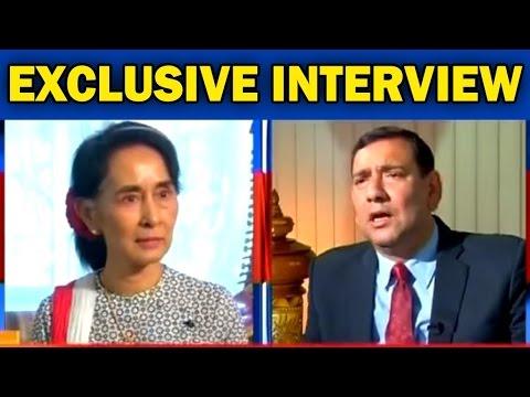 Myanmar's Aung San Suu Kyi Speaks On Terrorism - Exclusive