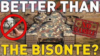 BETTER THAN THE BISONTE? World of Tanks