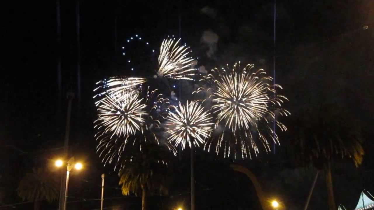 New Year's Eve Fireworks 2014 San Francisco California