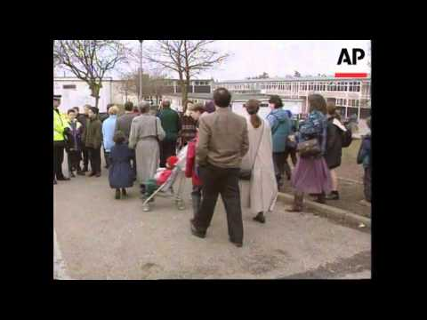 UK - Reopening Of Dunblane Primary School