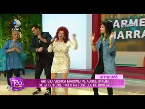 Carmen Harra canta la Teo Show - Kanal D