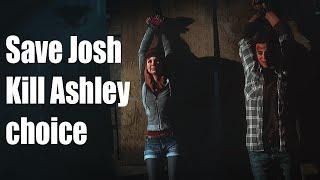 Until Dawn - Save Josh / Kill Ashley Choice
