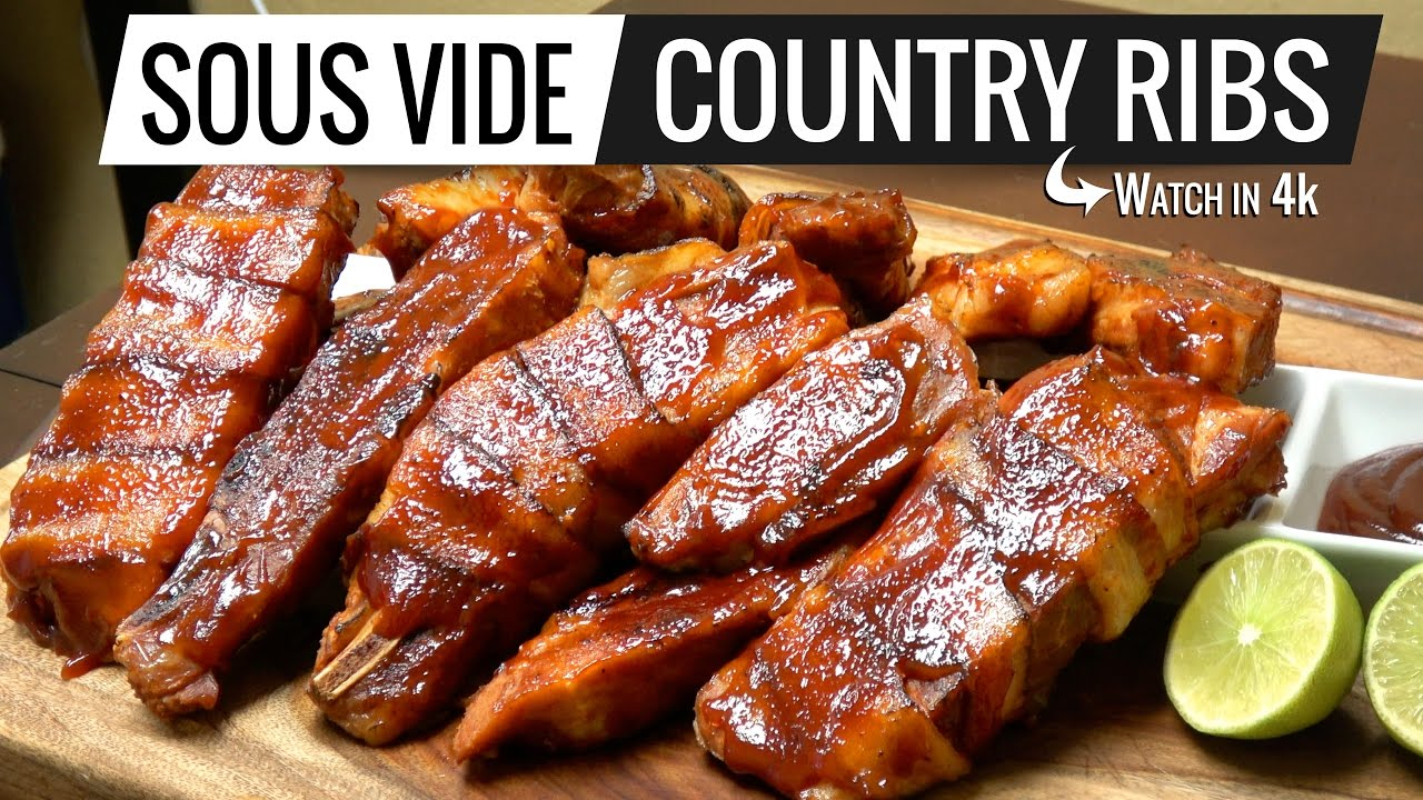 country style pork ribs sous vide