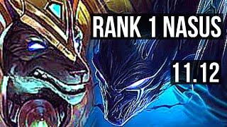 NASUS vs NOCTURNE (TOP)   Rank 1 Nasus, 6/1/7, Dominating   KR Challenger   v11.12