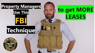 Property Manager Training | Get Leases Using This FBI Technique