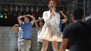 Ariana Grande- Born This Way/ Express Yourself Macy s Summer Blowout