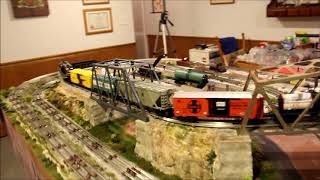 Improvements to Frank's small 027 scale train layout - April 2018