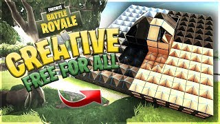 Fortnite Creative Mode | Free For All | Compact Arena #FortniteBlockParty