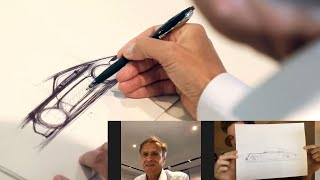 homepage tile video photo for Learn How to Draw a 911 From Porsche's Head of Design