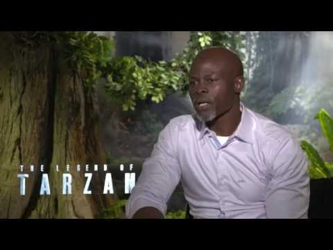 The Legend of Tarzan Interview - Djimon Hounsou