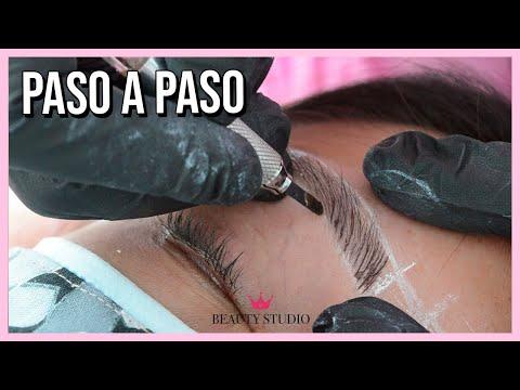 Micropigmentación Pelo a Pelo ♥ Beauty Studio Bogotá - Cejas PERFECTAS antes y después.
