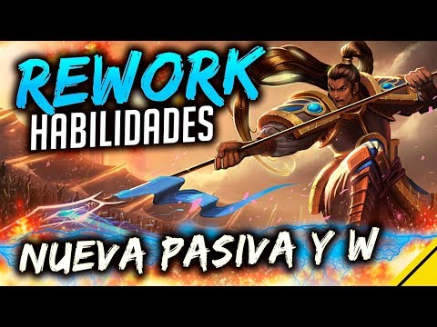 REWORK Xin Zhao HABILIDADES - NUEVA PASIVA y W, cambios E y R | Noticias League Of Legends LoL