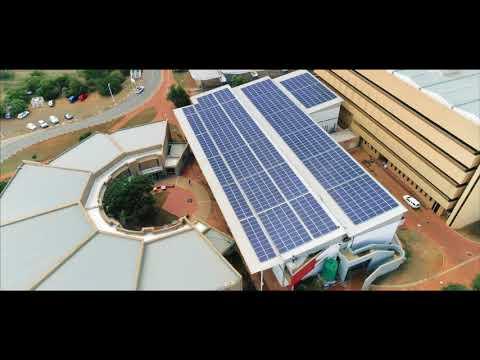 Sunworx solar installation at the University Of the Freestate