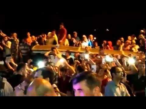 Erdoğan: Onların arkasında terör örgütleri var, bizim arkamızda Allah var, halk var VİDEO