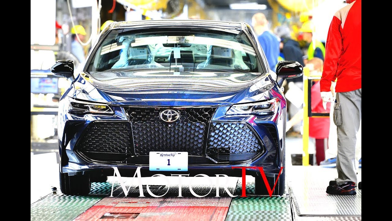 CAR FACTORY : 2019 TOYOTA AVALON PRODUCTION L Toyota Motor Manufacturing,  Kentucky L Clip