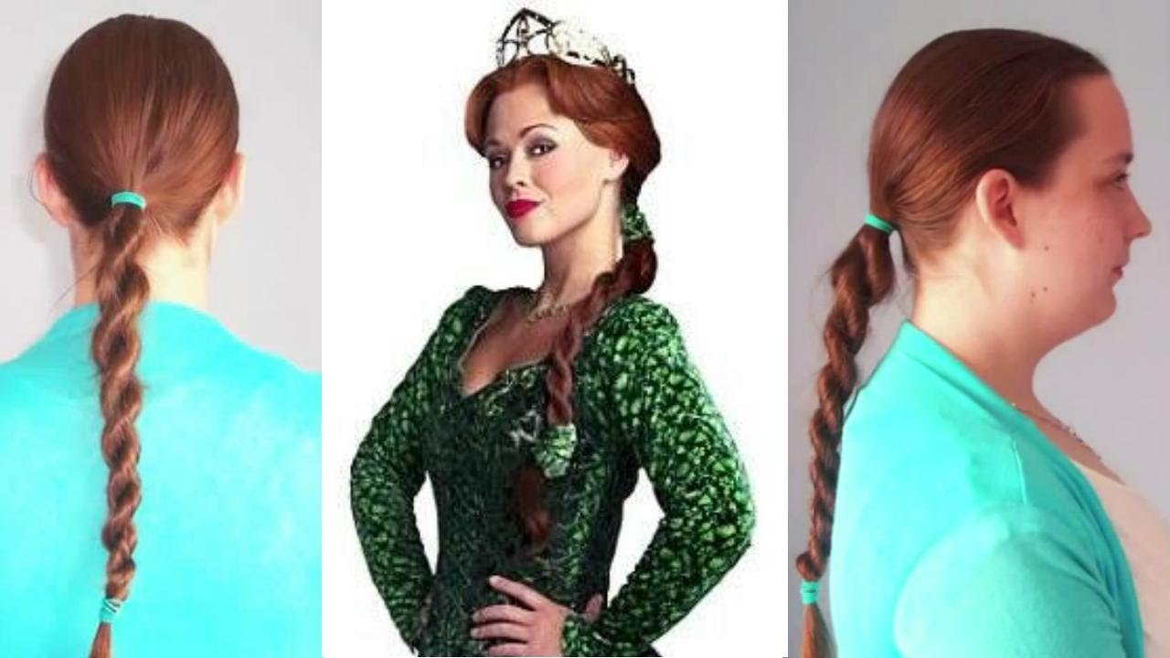 Hair Tutorial Rope Braid Aso Princess Fiona Shrek