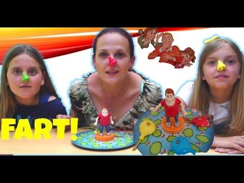 Челлендж КТО ИСПОРТИЛ ВОЗДУХ? Веселый Челленж видео для детей Gas Out Game Challenge Merry Challenge