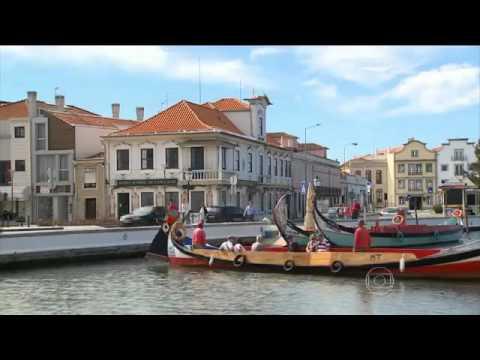 Reportagem da Globo TV sobre cidade de Aveiro