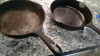 Rare Cast Iron Skillet Finds - August 2017/Storm Prepping Tip!