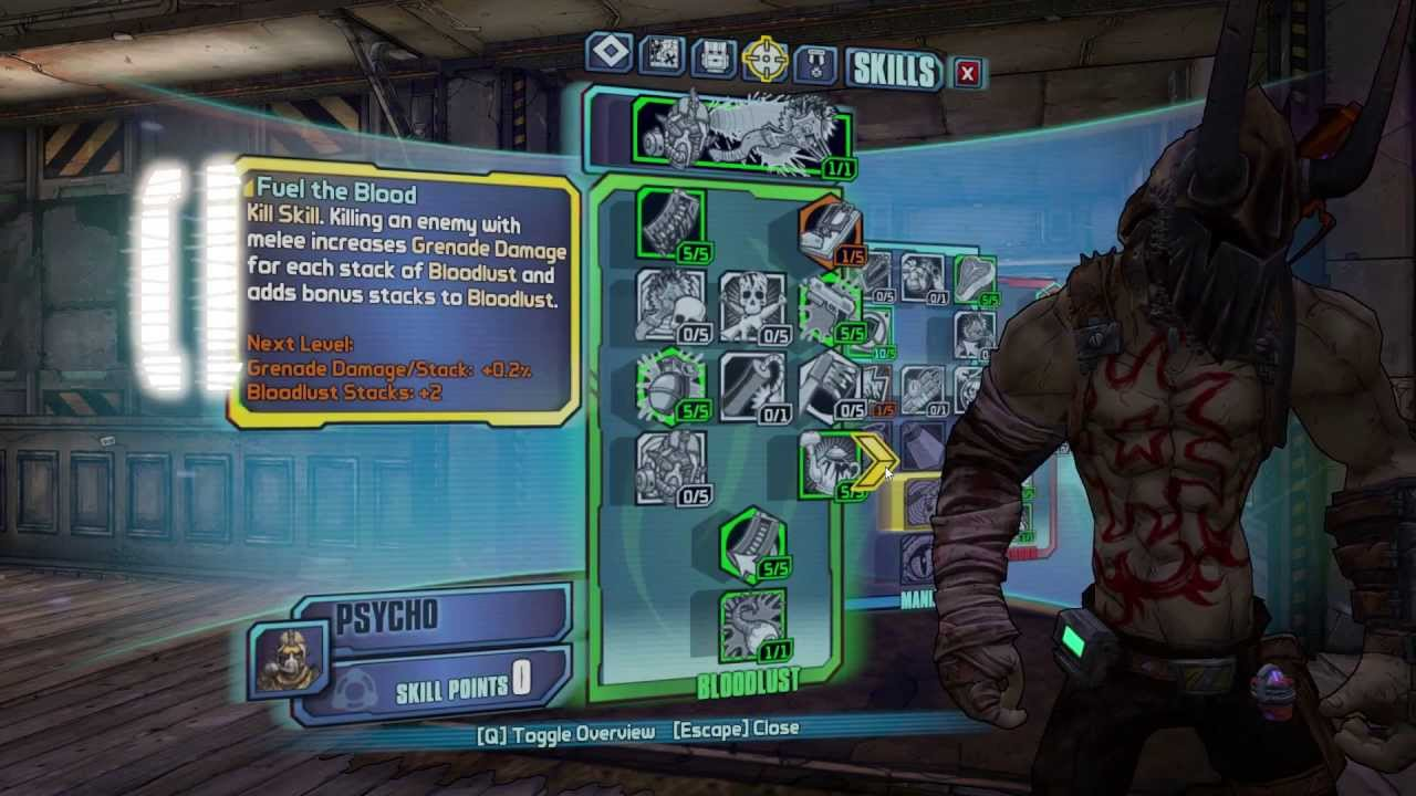 Borderlands 2 OP8 Psycho Build: Helborn Blitz Krieg - YouTube Borderlands 2 Psycho Build